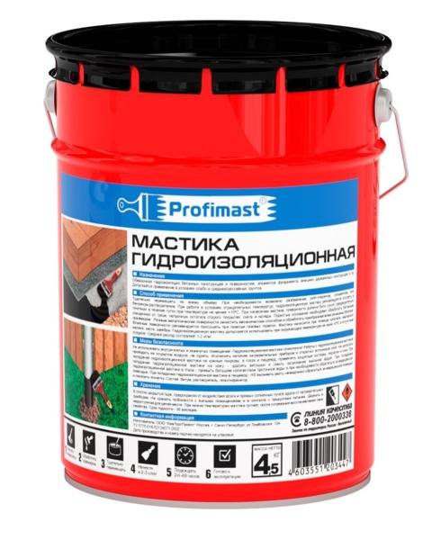 Мастика гидроизоляционная 5л PROFIMAST - купить в Великом Новгороде. ТД «Вимос»